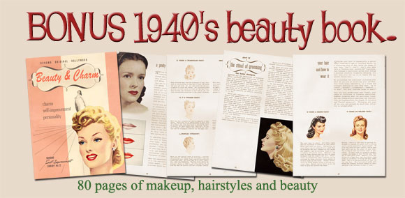 1940s beauty and charm book