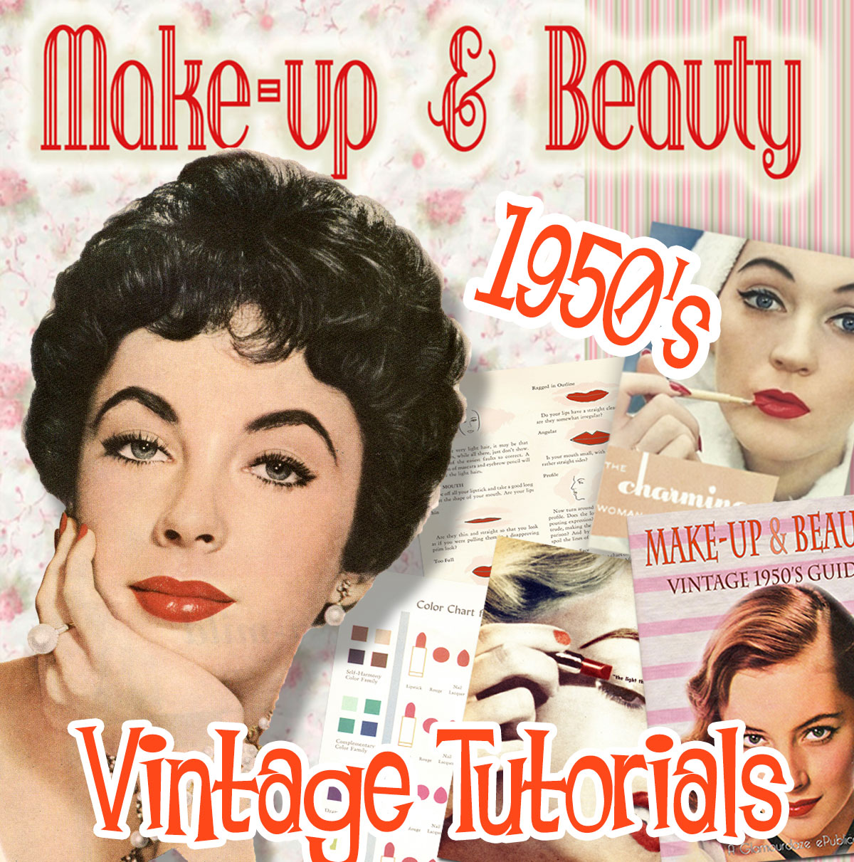 1950s makeup looks guides tutorials