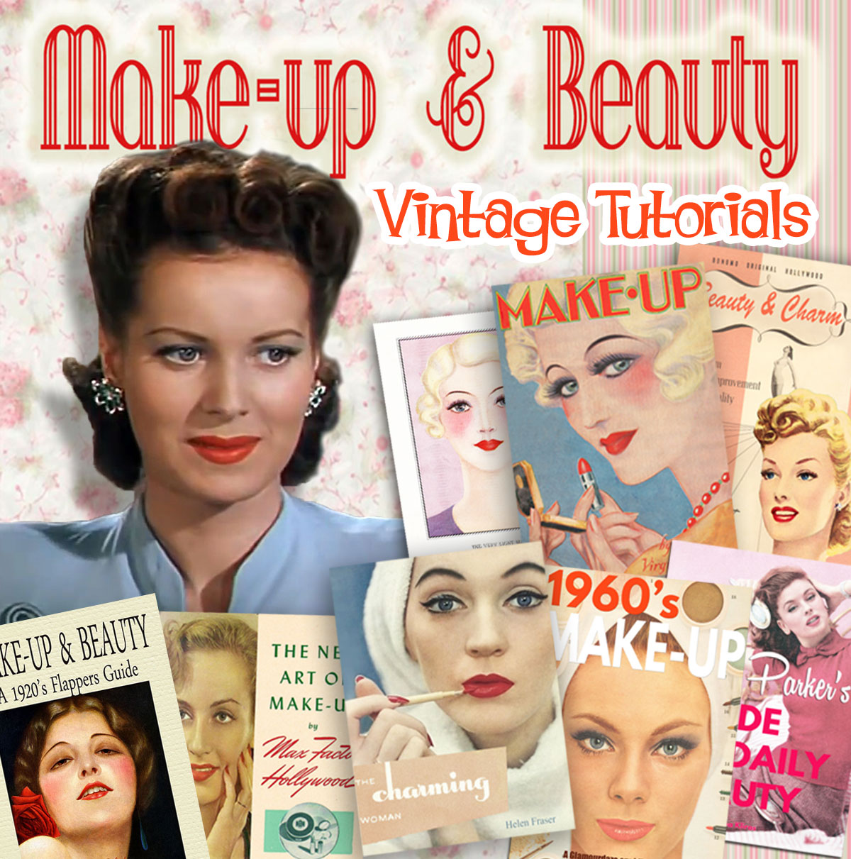 Vintage Makeup Tutorials and guides