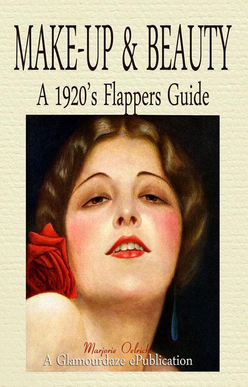 1920's flapper makeup book