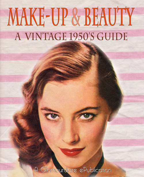 1950's makeup and beauty book