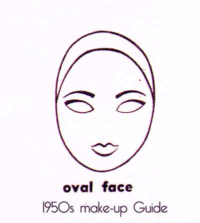 1950s-eyebrow-shape---oval-face