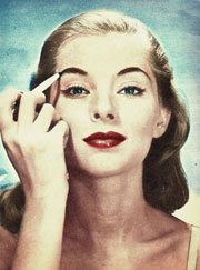 1950's makeup tips and tricks  vintage makeup guides