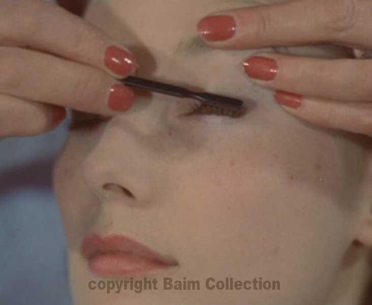 seven step 1960s makeup look archive film vintage