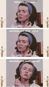 vintage-1960s-makeup-tutorial8--contouring-with-rouge