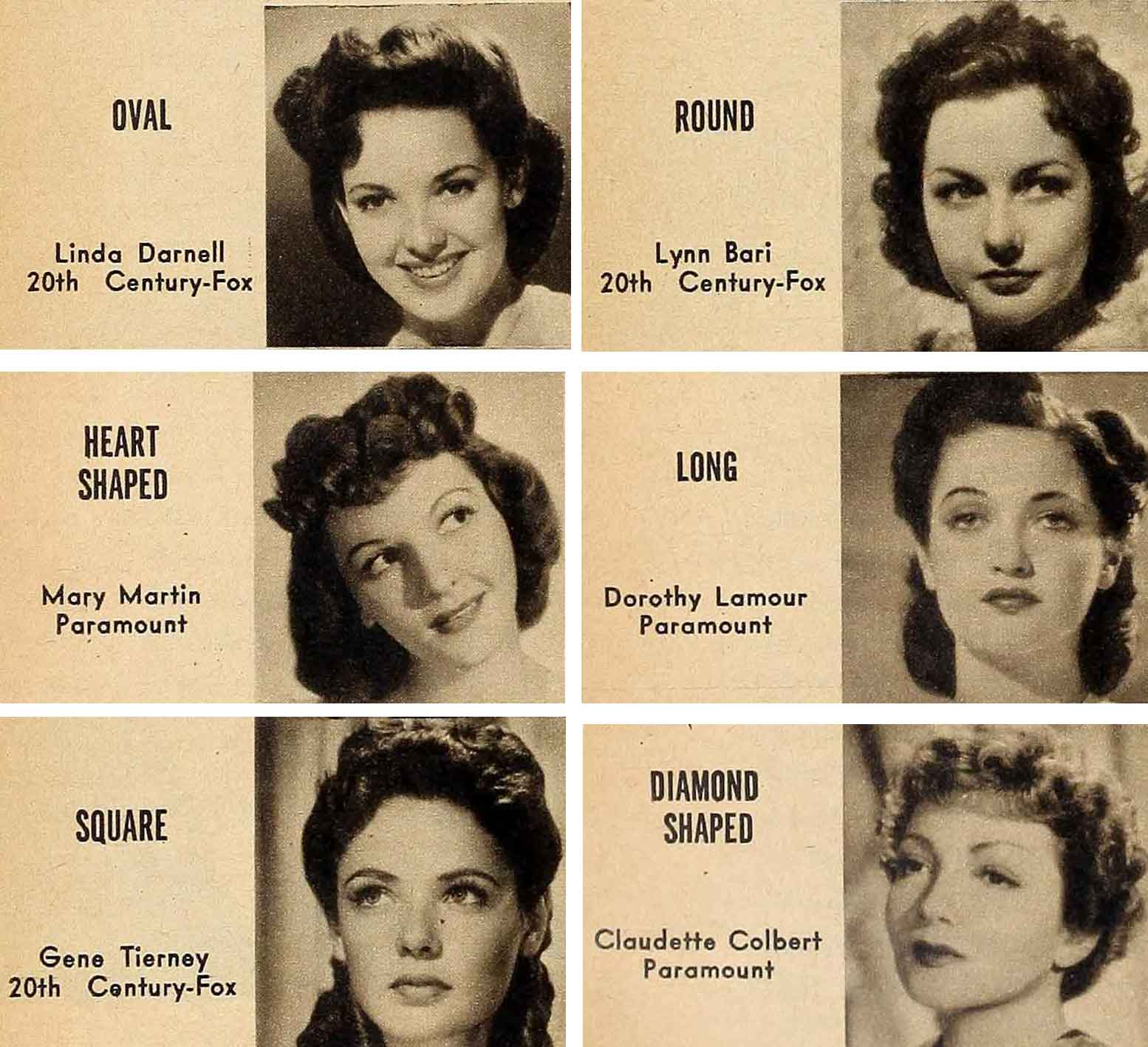 1940s Hair And Make Up Secrets For Your Face Type