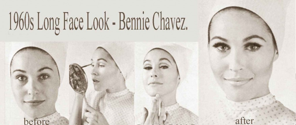 1960s-makeup---Long-Face-Look---Bennie-Chavez.