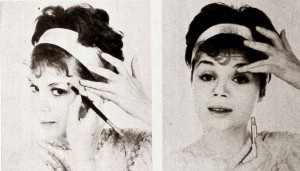 A-quick-Early-1960s-Eye-Makeup-Look---step-3-and-4