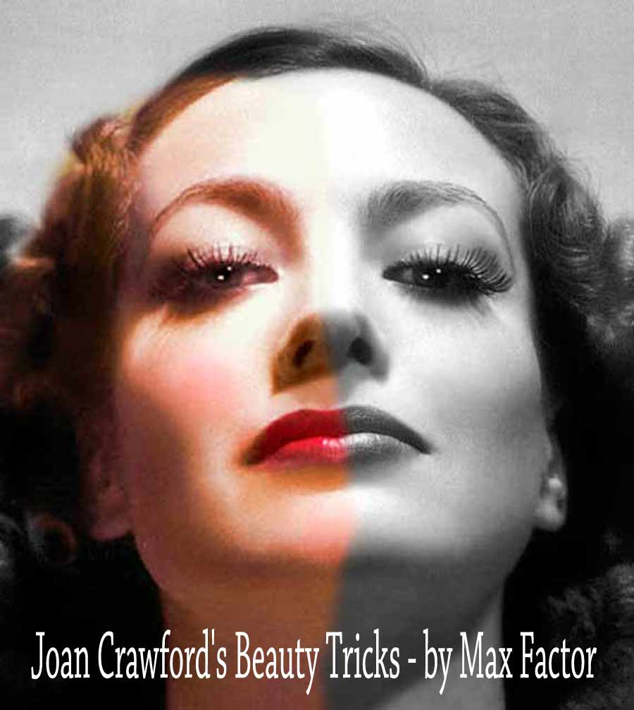 Joan Crawfords Beauty Tricks By Max Factor 1934 Vintage Makeup