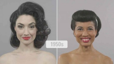 100-Years-of-beauty---Ebony-and-Ivory-comparison---1950s