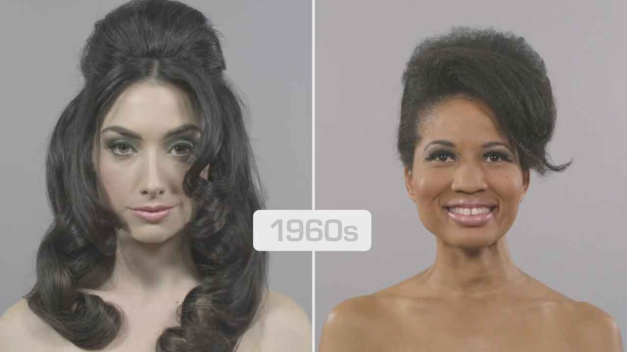 100 Years Of Beauty Ebony And Ivory Comparison Vintage
