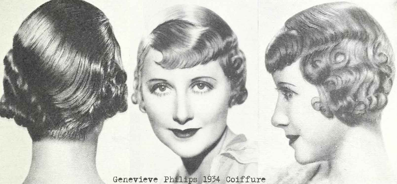 1930s Hair And Make Up Tricks Of The Stars Vintage Makeup Guides