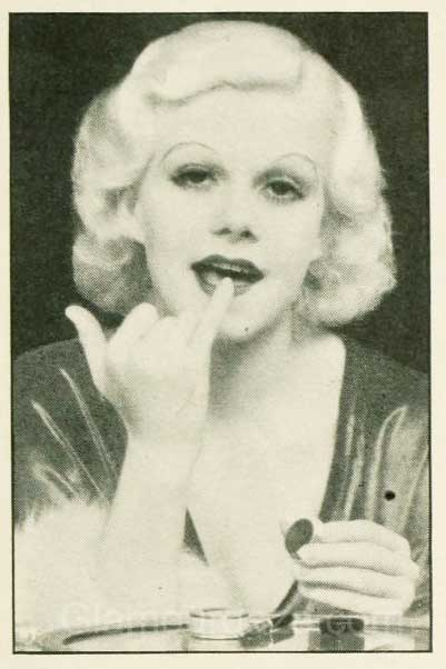 1930s-Makeup-The-Jean-Harlow-Look-lips