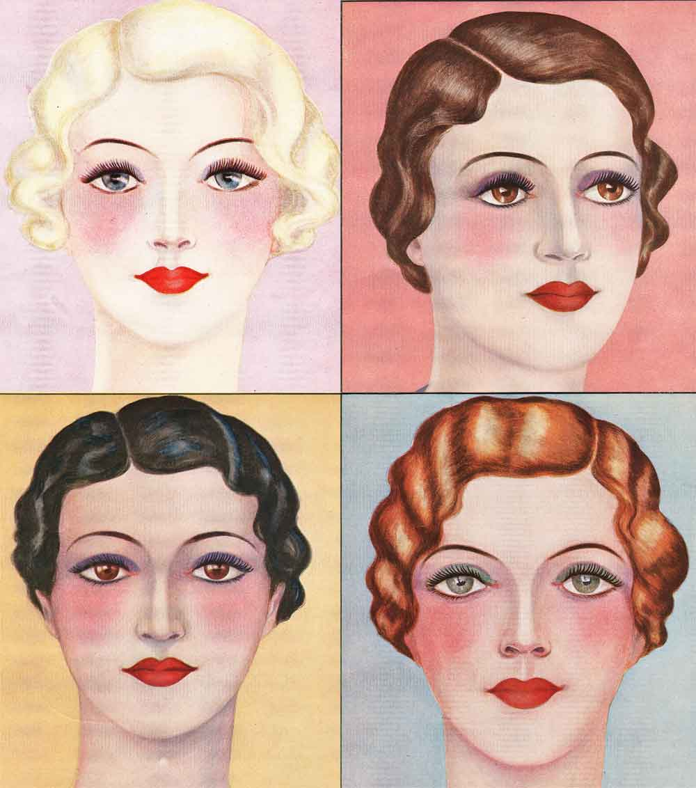 Kiss And Make Up: Kiss And Make Up - 1930s Beauty Guides