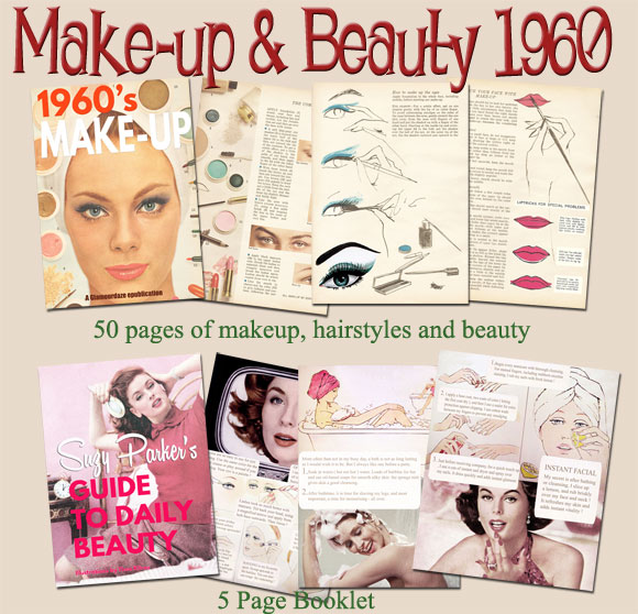 1960s Makeup Tutorial Books