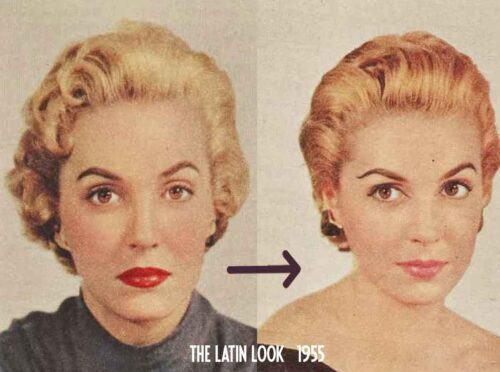 1950s-Makeup---The-New-Latin-Look-of-1955