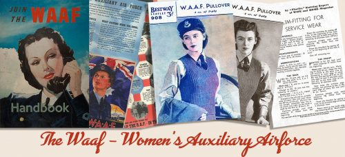 British 1940s Women in WW2 Memorabilia- The Waaf