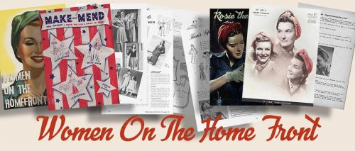 USA 1940s Women in WW2 Memorabilia - the Home front