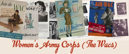 American 1940s Women in WW2 Memorabilia - The WAC