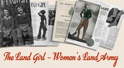 British 1940s Women in WW2 Memorabilia- Land Girls