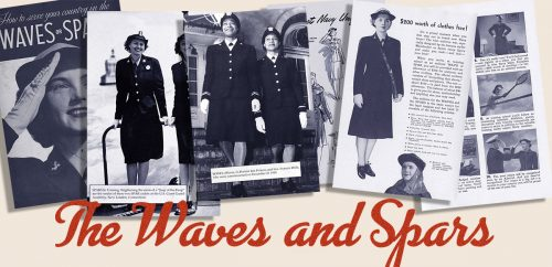1940s Women in WW2 Memorabilia - Waves and Spars