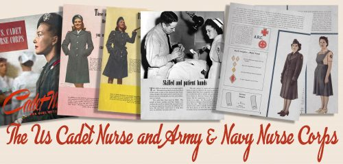 American 1940s Women in WW2 Memorabilia - Nurses