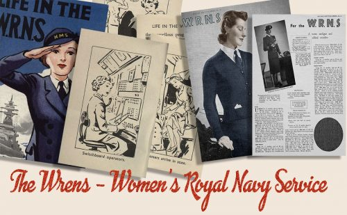 British 1940s Women in WW2 Memorabilia- Wren Girls