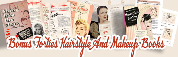 1940s War Era beauty Guides