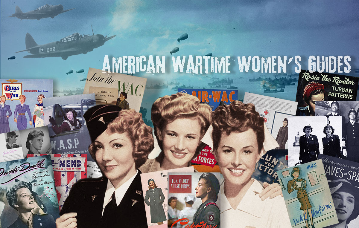 American 1940s Women in WW2 Memorabilia