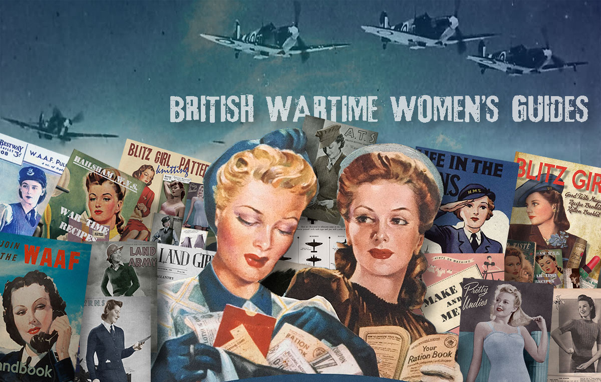 British 1940s Women in WW2 Memorabilia