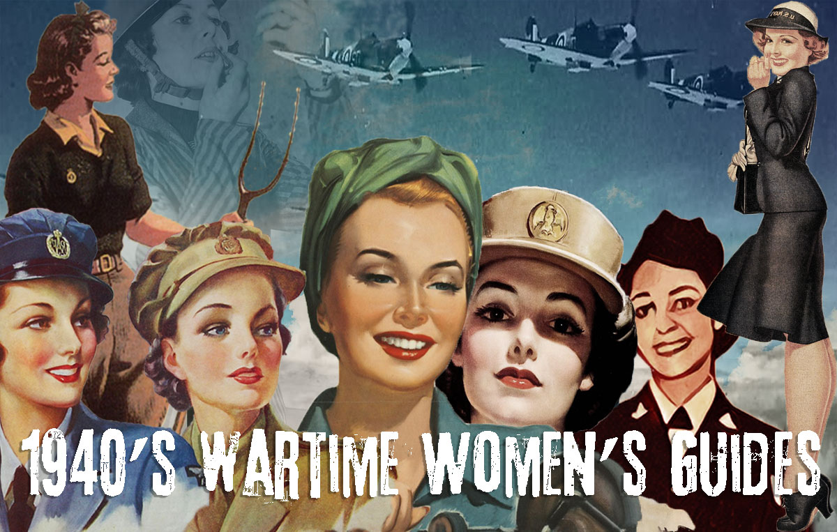 1940s Women in WW2 Memorabilia