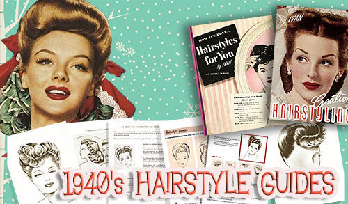 1940s Hair Tutorial books