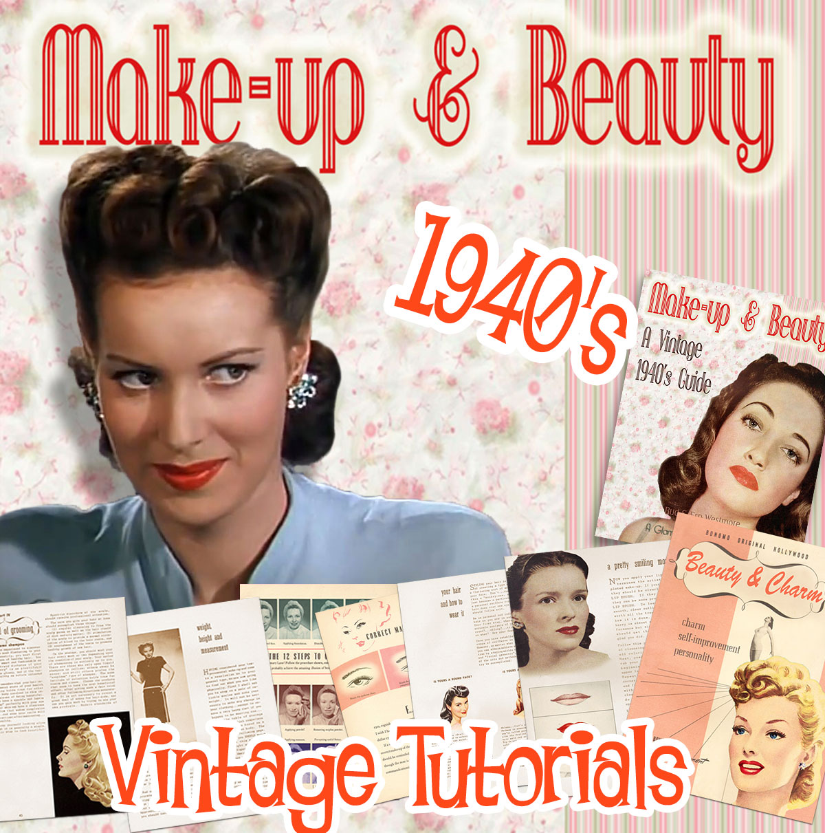 1940s Makeup Tutorials