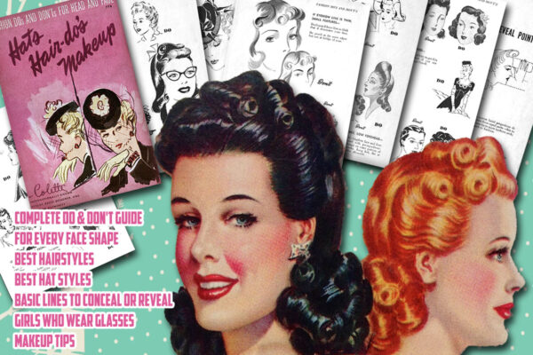 1940s Hair Tutorial Book Vintage Makeup Guides