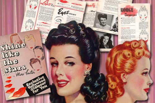 max factor war era beauty book