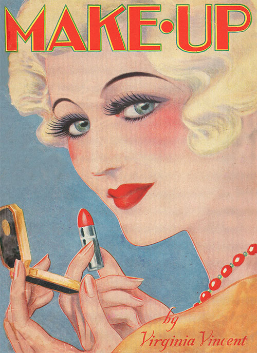 1930s makeup guide book