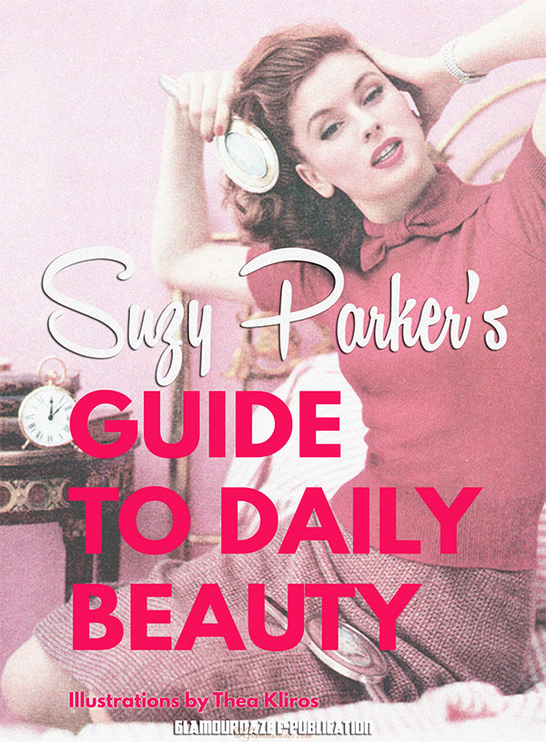 Suzy Parker - 1960's Daily Beauty Guide