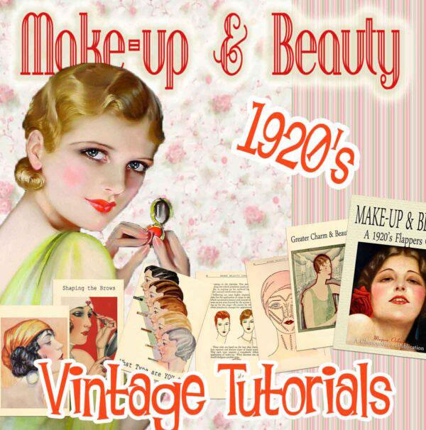 1920's makeup tutorial book