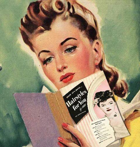 1940's hairstyles - hair tutorial book